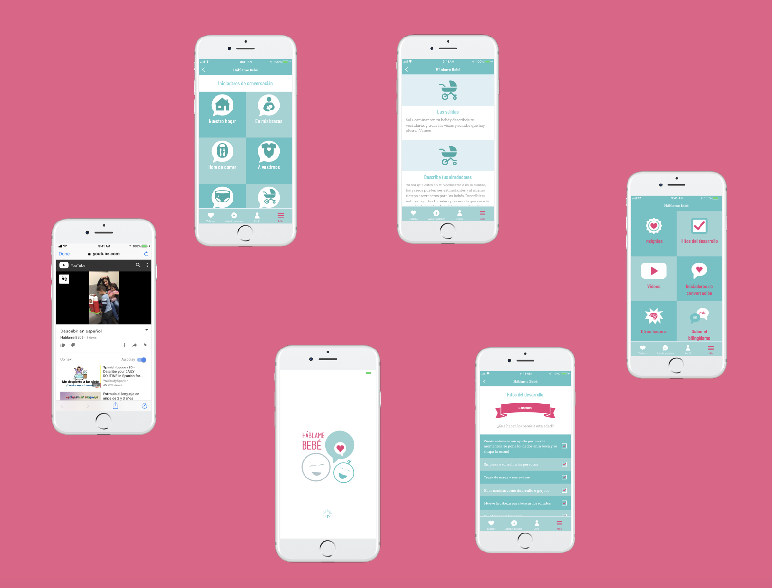 The Háblame Bebé App has officially launched!